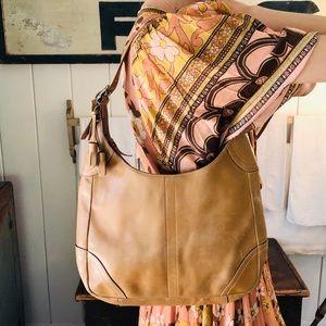 ♥️ Coach ♥️ Brown Leather Shoulder Bag